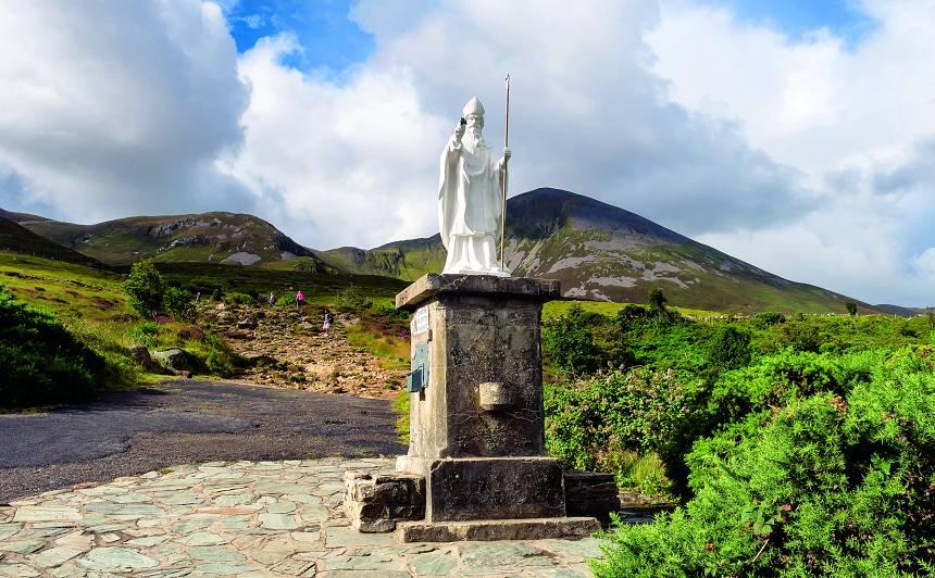 <strong>Īrijas slavenākais imigrants — </strong> Svētais Patriks