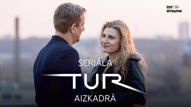 VIDEO: <strong>LMT seriāla <em>TUR</em></strong> aizkadrā aktrise Ilva Centere