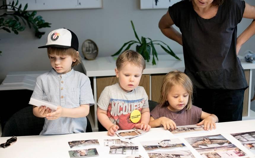 ISSP Galerija aicina uz <strong>bezmaksaskolāžudarbnīcu</strong>bērniem un ģimenēm