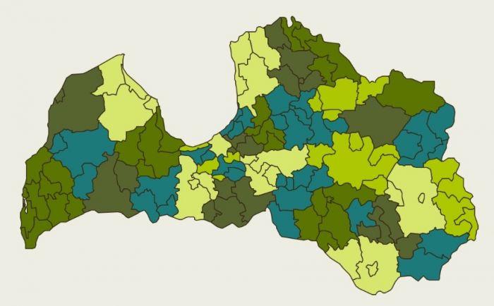 <strong>Līdzšinējo 119 pašvaldību vietā 36</strong> — valdība dod zaļo gaismu teritoriālās reformas turpināšanai