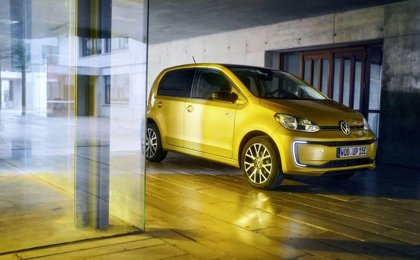 Elektriskais <strong><em>Volkswagen e-up!</em></strong> spēs veikt 260 km distanci