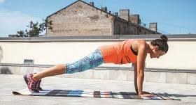 <strong>Planks</strong> — viens vingrojums, daudz labumu
