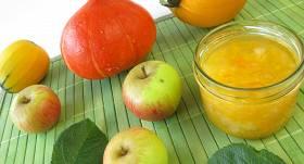 <strong>Ķirbji</strong> ar pīlādžiem, āboliem un cidonijām