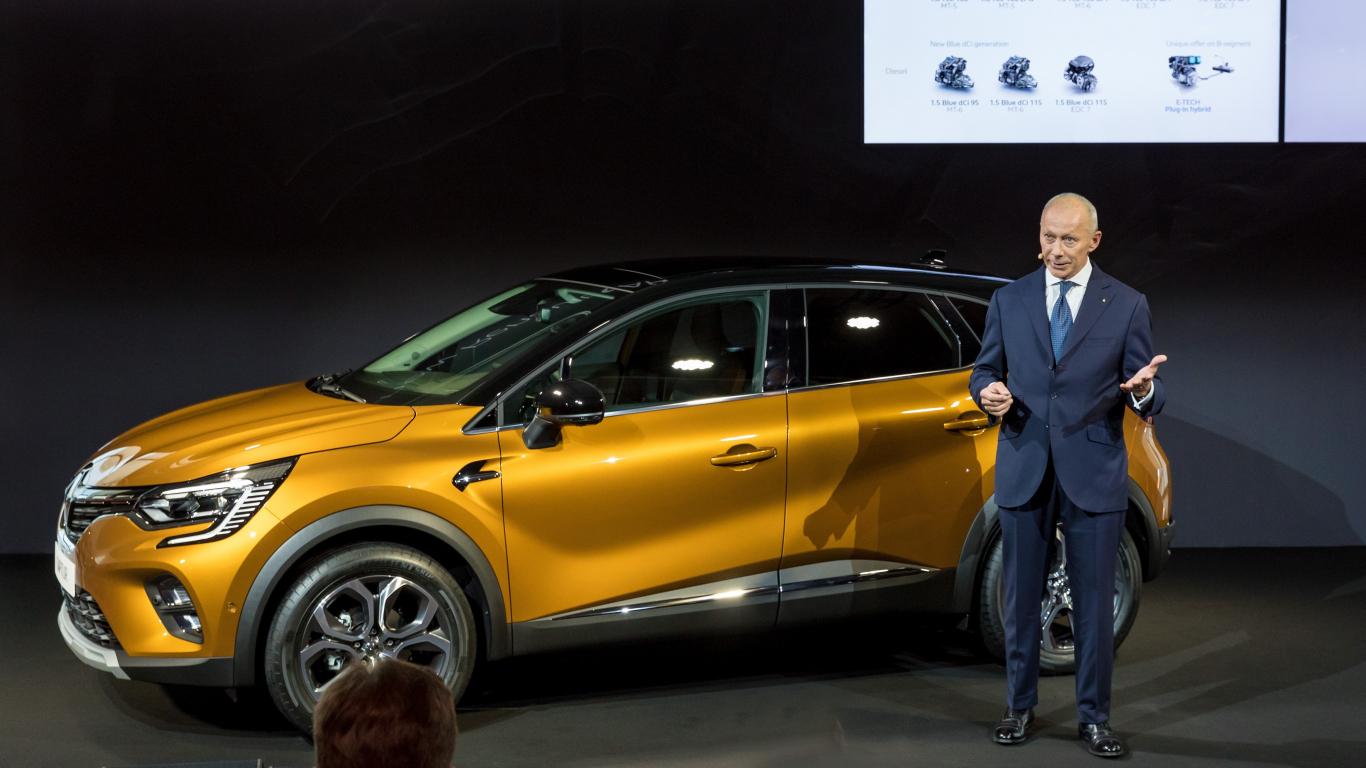 FOTO: Jaunā <strong><em>Renault Captur</em></strong> prezentācija Frankfurtes auto izstādē