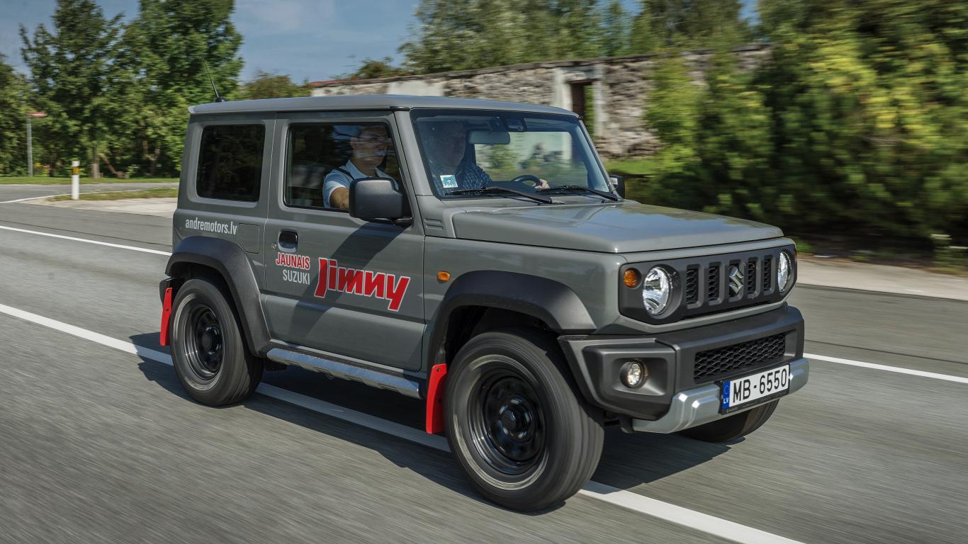 <strong><em>Suzuki Jimny</em></strong> — žurnāla <em>KLUBS</em> lielais auto tests