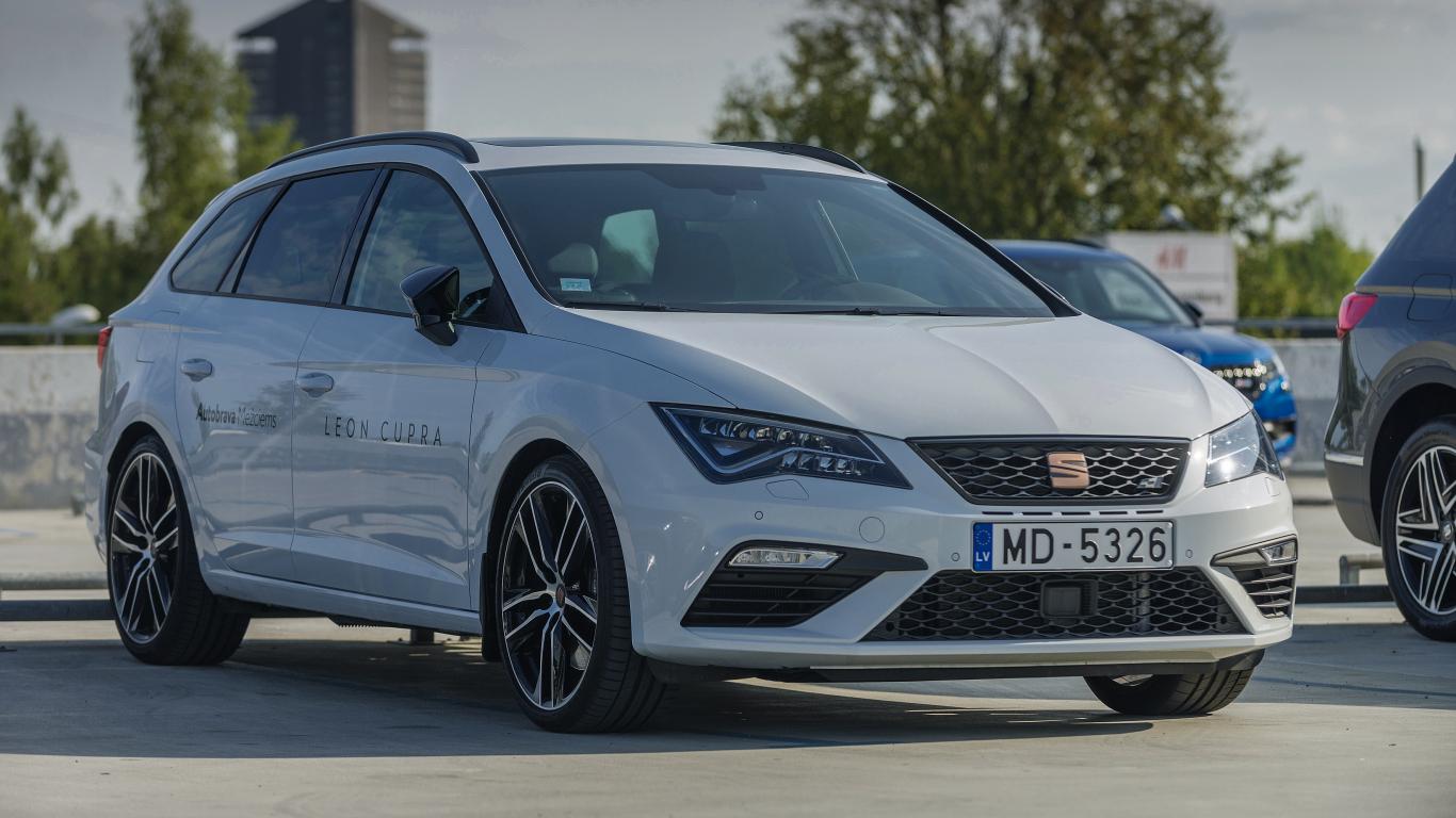 <strong><em>Seat Leon ST Cupra</em></strong> — žurnāla <em>KLUBS</em> lielais auto tests