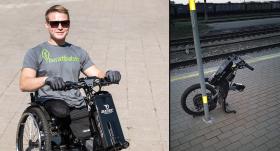 Neticami: Aktierim <strong>Aleksandram Ronim izdodas atgūt pazudušo elektrisko ratiņkrēslu</strong>