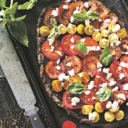 Griķu miltu pica