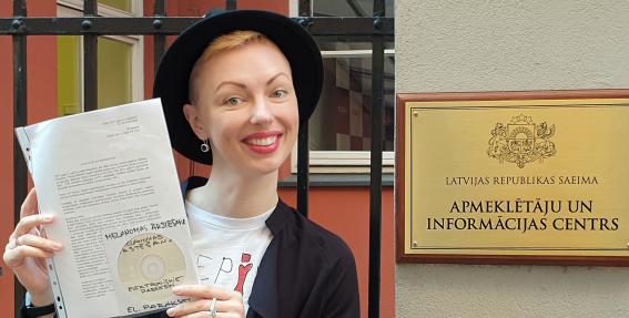 <strong>Sondra Zaļupe iesniedz Saeimā iniciatīvu</strong> melanomas ārstēšanas atbalstam