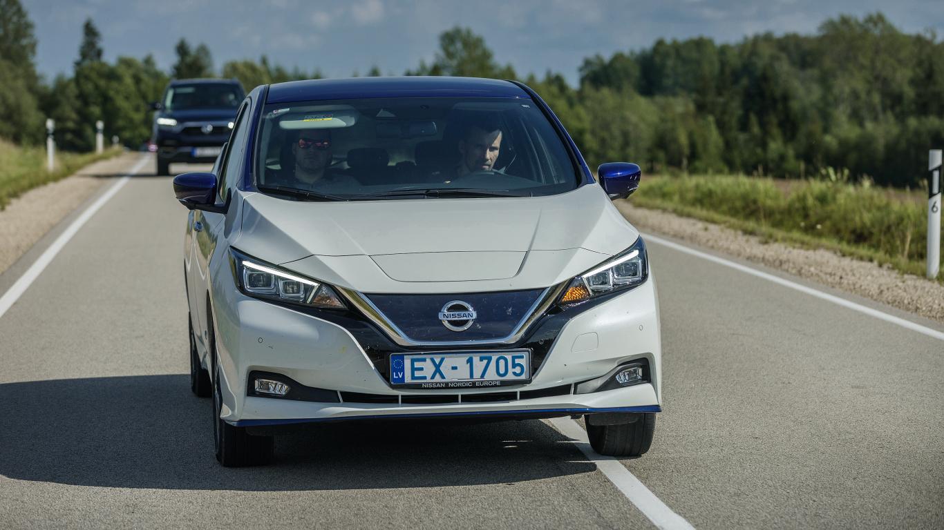 <strong><em>Nissan Leaf</em></strong> — žurnāla <em>KLUBS</em> lielais auto tests