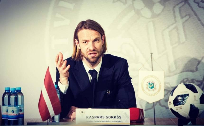 Kaspars Gorkšs par Latvijas futbola virtuvi: <strong>Esmu pavadījis laiku cīņā ar vējdzirnavām</strong>