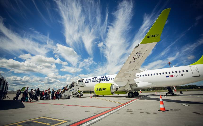 <em>airBaltic</em> izziņo <strong>četrus jaunus galamērķus</strong>