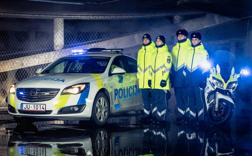Valdībā apstiprina Valsts policijas amatpersonu <strong>jauno formas tērpu aprakstus</strong>