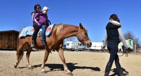<strong>Zirgu ārstnieciskais spēks — </strong> reitterapija