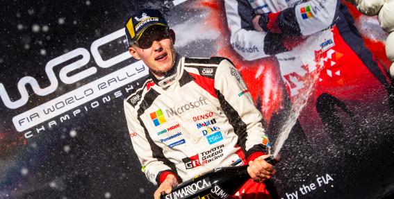 Igaunijai WRC tituls! <strong>Igaunis Ots Tanaks kļūst par WRC pasaules čempionu</strong>