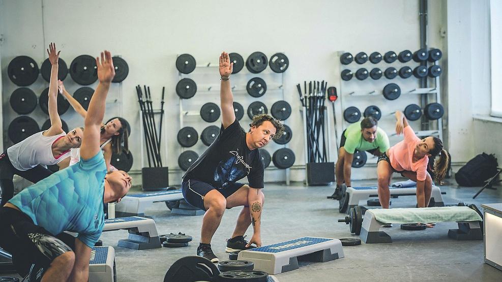 <strong>Vēl viena pirmā reize</strong> sporta zālē
