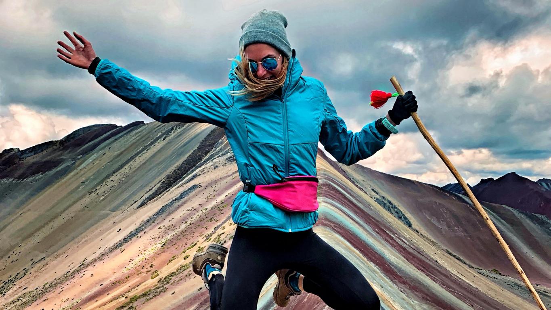 Ieva Smilga: <strong>Lēmumu braukt uz Peru pieņemu aptuveni 10 sekundēs</strong>