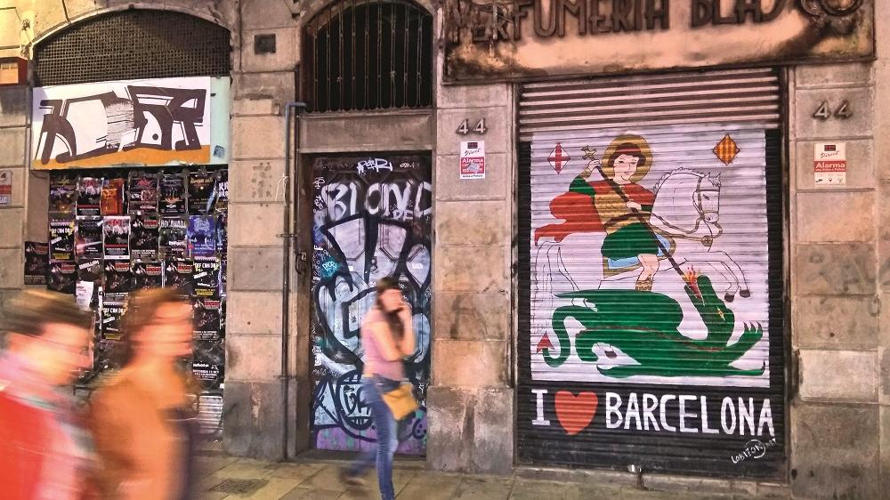 Pa Barselonas <strong>narkodžungļiem</strong>