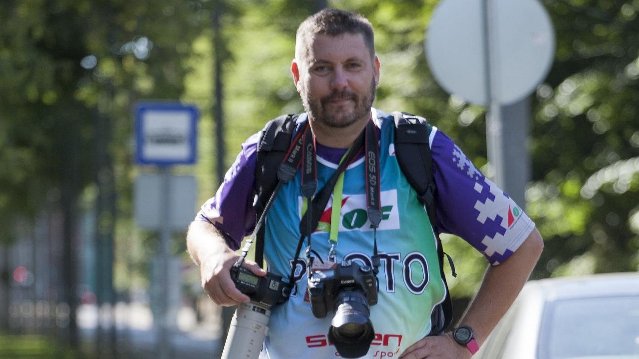 Tautas sporta fotogrāfs Mareks Gaļinovskis. <strong>Simtdaļu stāsti</strong>