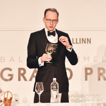 <strong>Baltijas labākā vīnziņa godu</strong> iegūst Latvijas pārstāvis Kaspars Reitups