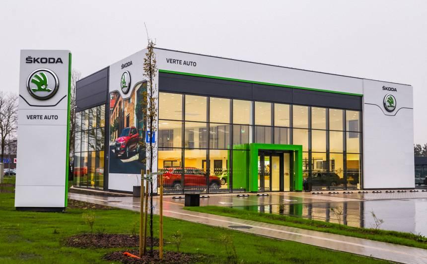 FOTO: <strong>Rīgā darbu uzsāk otrs <em>Škoda</em> dīleris</strong> – VERTE AUTO