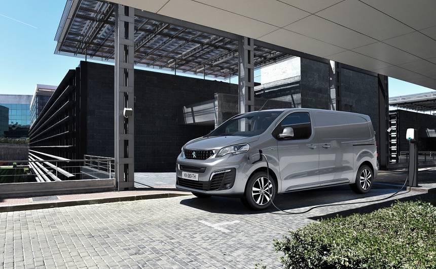 <strong><em>Peugeot</em> prezentē elektrisko komercauto</strong> — <em>e-Expert</em>