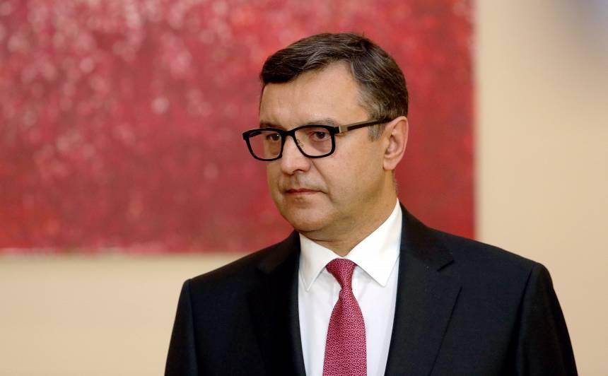 Finanšu ministrs Jānis Reirs