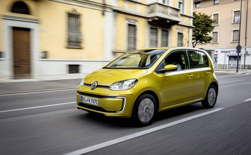 Latvijā uzsāk <strong>elektriskā <em>Volkswagen e-up!</em> iepriekšpārdošanu</strong>