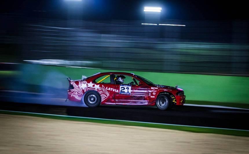 Latvijas izlase <strong>pirmajās FIA Motoru sporta spēlēs pie medaļām netiek,</strong> bet slavē iegūto pieredzi