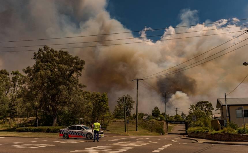 <strong>Meža ugunsgrēku dēļ atceļ pēdējo WRC posmu Austrālijā;</strong> <em>Hyundai</em> – čempioni!