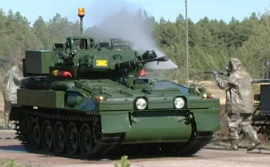 VIDEO: Armijai piegadāto bruņumašīnu <strong>būtiskākos remontus joprojām neveic Latvijā</strong>