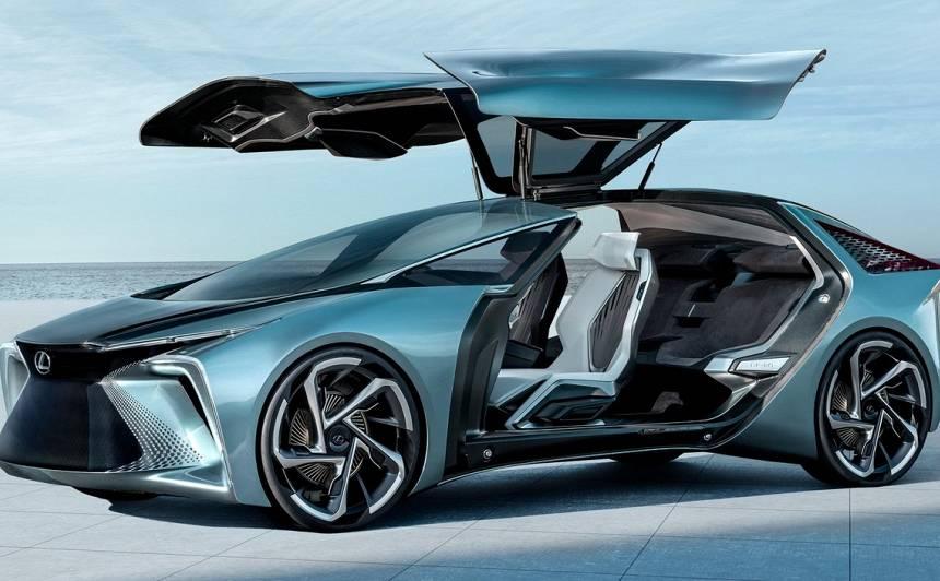 <em>Lexus</em> prezentē <strong>elektrifikācijas nākotni ar jauno <em>LF-30</em> konceptu</strong>