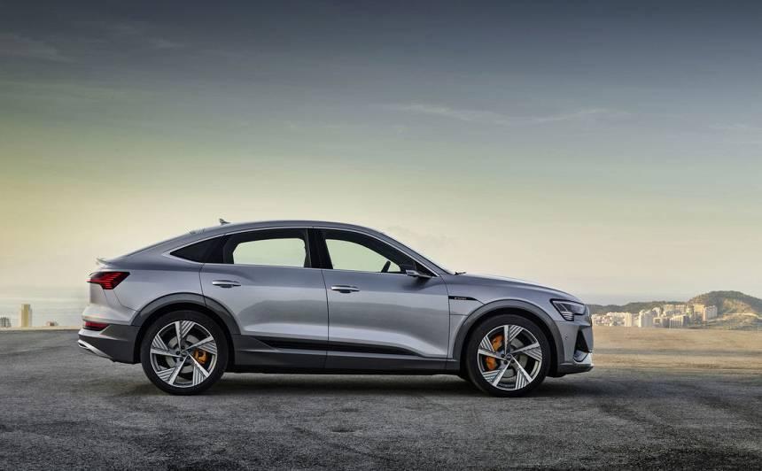 VIDEO: <em>Audi</em> iepazīstina ar <strong>elektrisko <em>e-tron Sportback</em></strong>