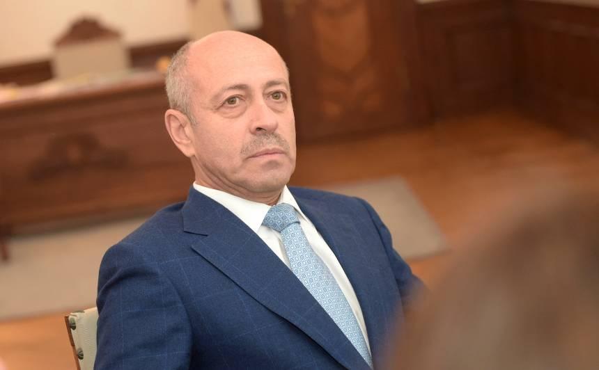 Rīgas domes priekšsēdētājs Oļegs Burovs
