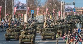 Lāčplēša dienas militārās parādes vietā Rīgā šogad rīkos <strong>tautas gājienu uz Gaismas pili</strong>