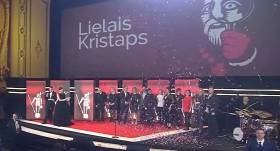 VIDEO: <strong><em>Lielā Kristapa</em> laurus plūc filma <em>Oļegs</em></strong> un <em>Jelgava '94</em> režisors Ābele