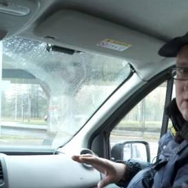 VIDEO: Zebra TV testē, kā strādā <strong>netrafarētais policijas busiņš ar 360 grādu kameru</strong>