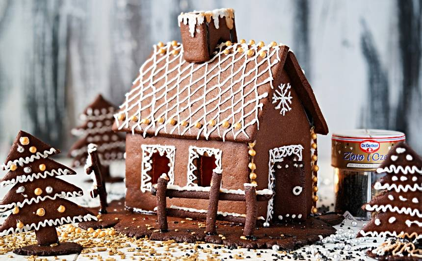 Ziemassvētku piparkūku namiņš