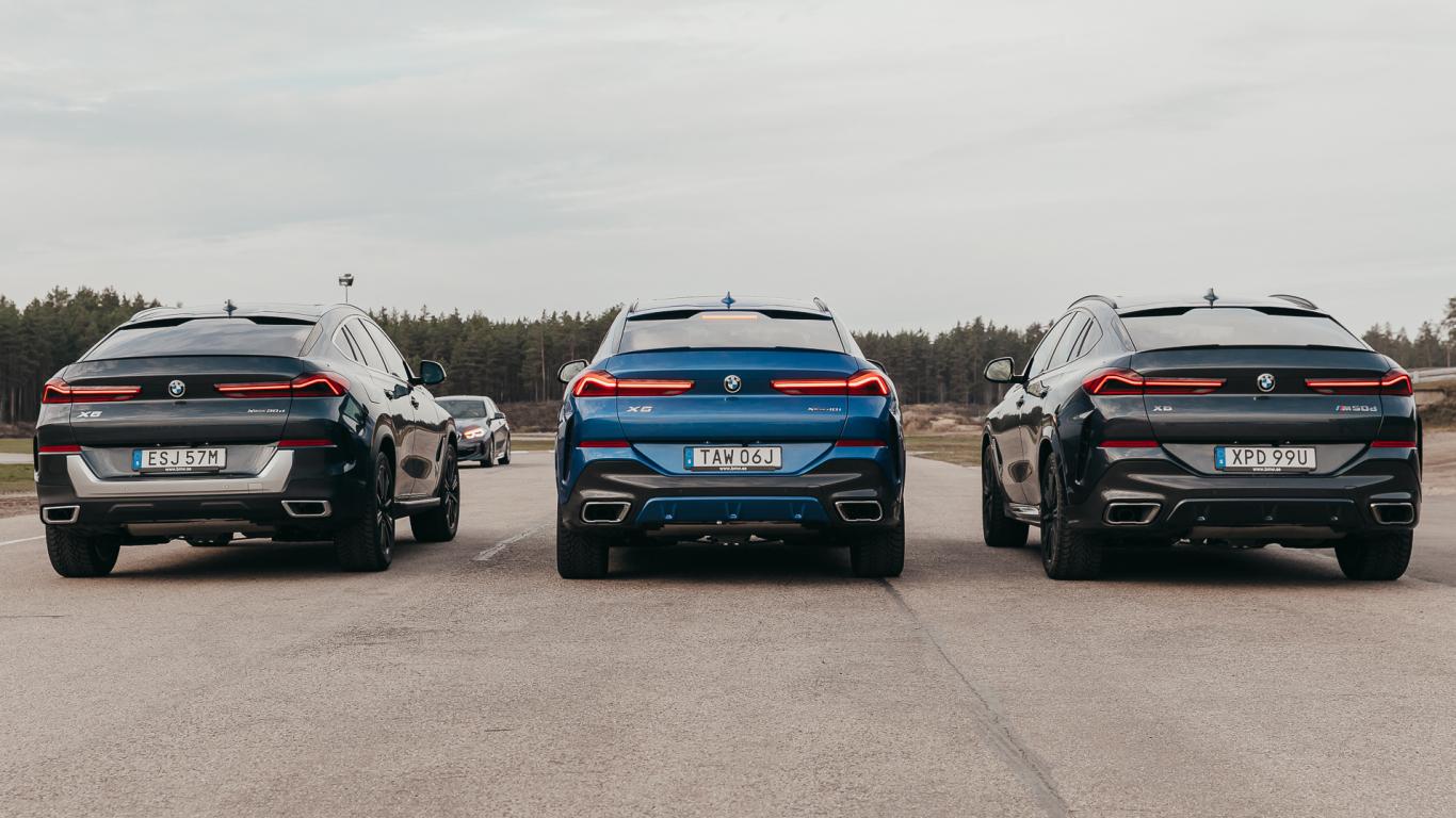 Latvijā prezentēts jaunais <strong><em>BMW X6</em></strong>
