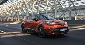 <strong>Modernizētais <em>Toyota C-HR</em></strong> būs pieejams ar jaunu hibrīda dzinēju