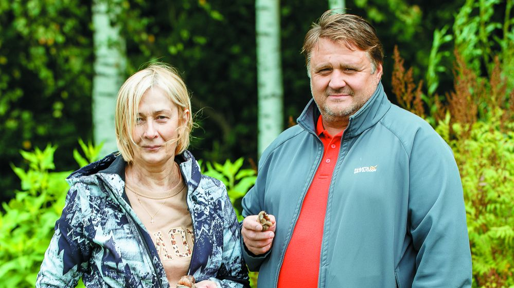 Vīngliemežu audzētājs Ainis Noviks: <strong>Dieva labvēlība tiek dulliem optimistiem!</strong>