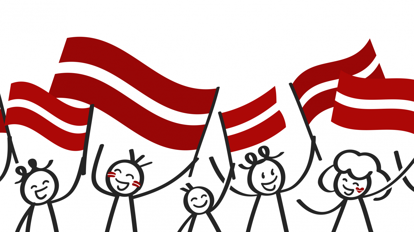 Pavisam banāli — <strong>Tevi ļoti mīlam, Latvija!</strong>