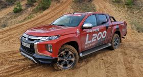<strong><em>Mitsubishi L200</em></strong> pirmais testa brauciens