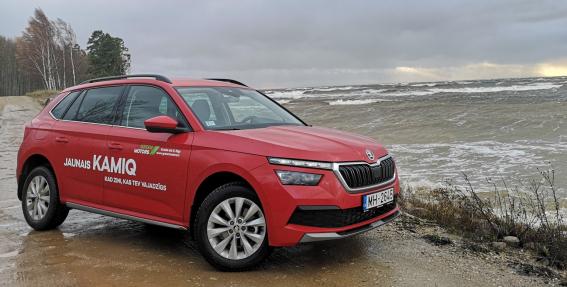 <strong><em>Škoda Kamiq</em></strong> pirmais testa brauciens