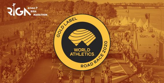 <em>Rimi</em> Rīgas maratons <strong>atkārtoti saņem Pasaules vieglatlētikas asociācijas Zelta zīmi</strong>