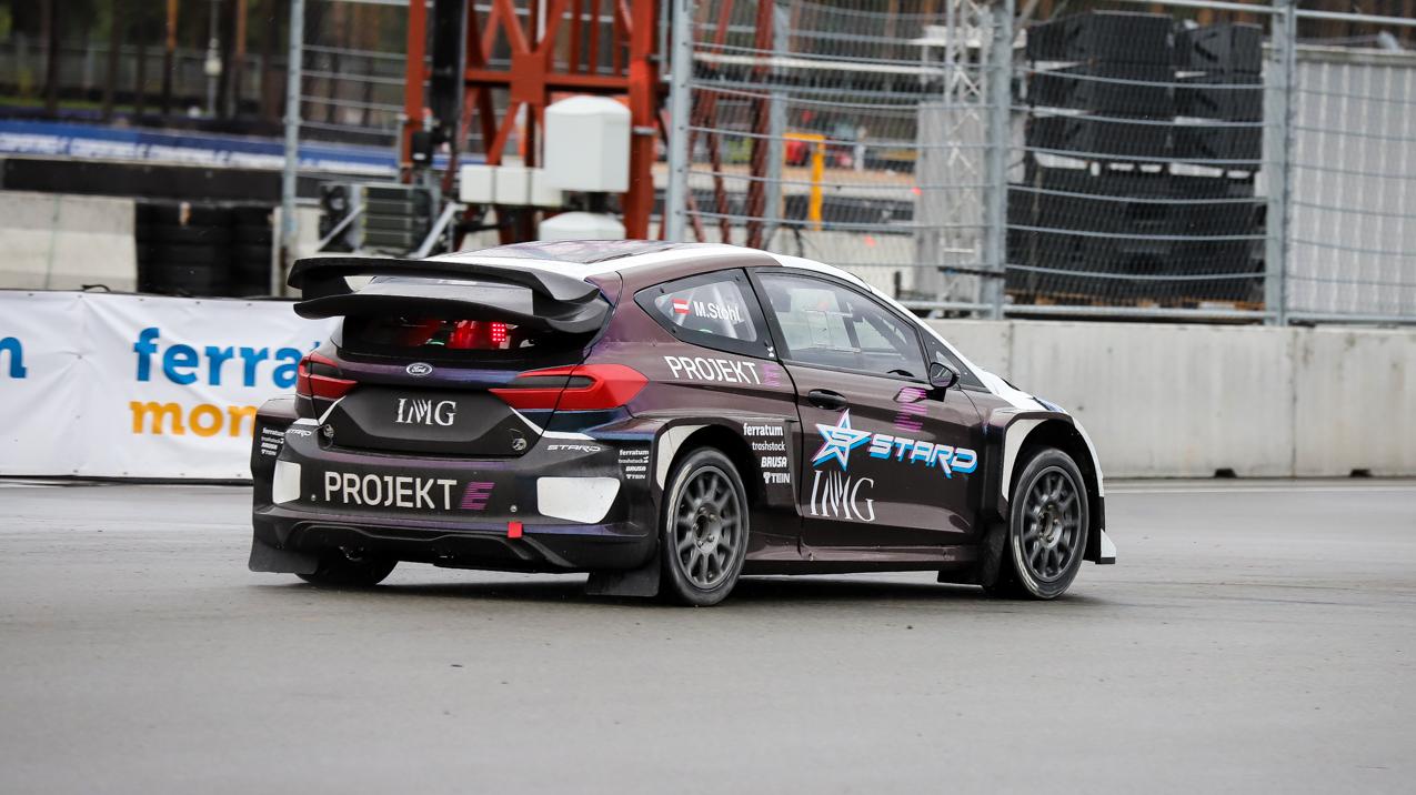 Nākamgad Rīgā rallijkrosa čempionāta posmā startēs arī <strong>elektroauto klase</strong>