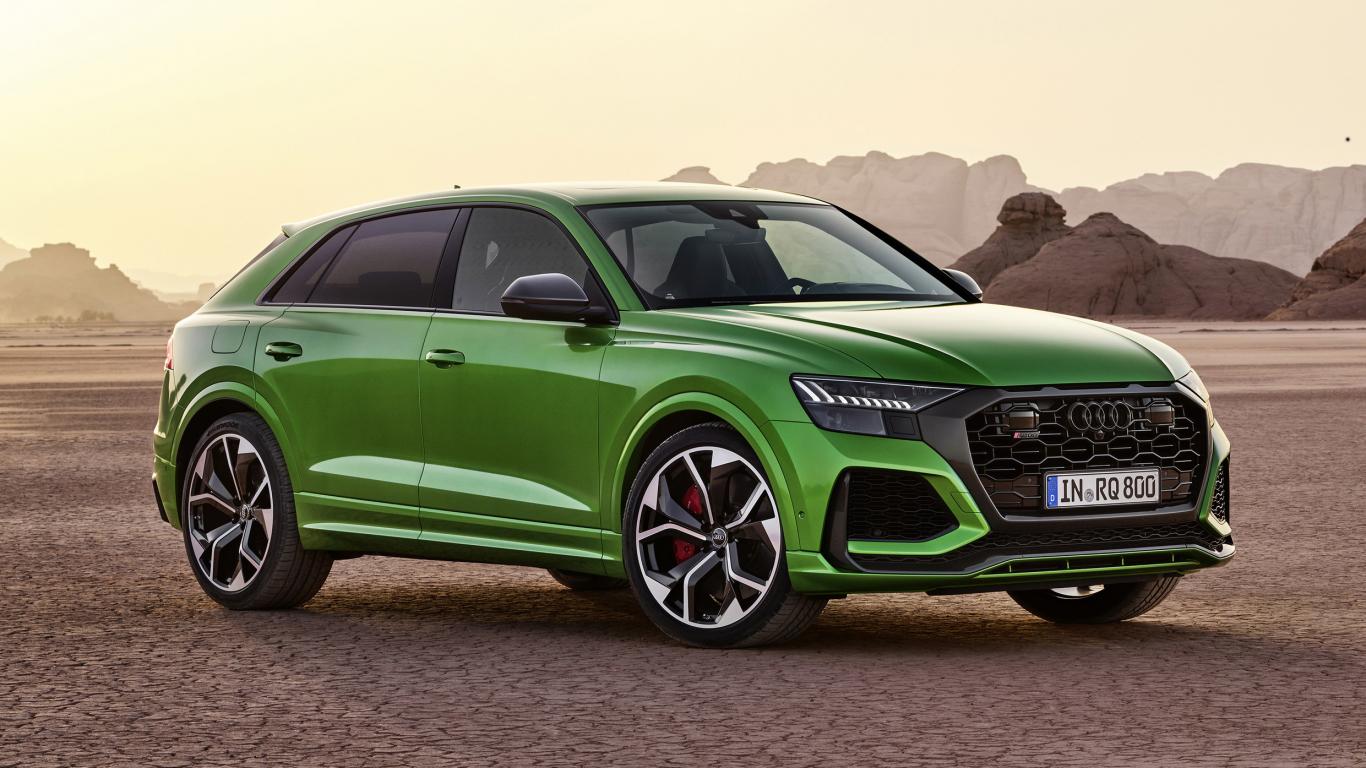 <em>Audi</em> sportiskākais Q modelis — <strong>600 zirgspēku <em>RS Q8</em></strong>
