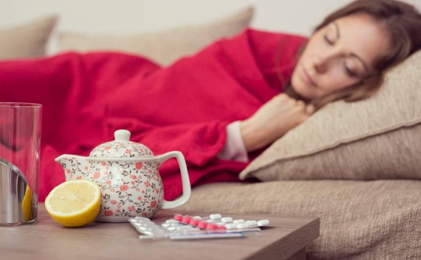 <strong>Saslimstība ar gripu turpina pieaugt,</strong> bet joprojām saglabājas zema