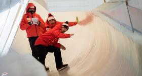 FOTO: Kā Leikplesidas trase gatavojas uzņemt <strong>pasaules labākos bobslejistus un skeletonistus</strong>