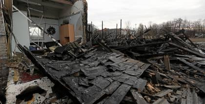 Andrejsalā notikušā <strong>ugunsgrēka ietekmi uz gaisa kvalitāti</strong> varēs novērtēt februāra sākumā